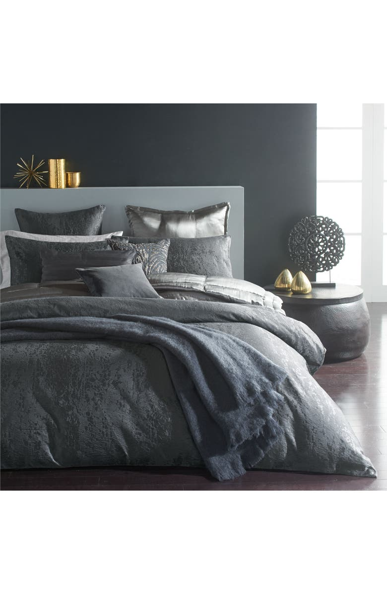 DONNA KARAN NEW YORK Donna Karan Moonscape Duvet Cover, Main, color, 020
