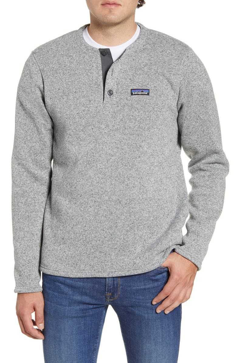 PATAGONIA Better Sweater<sup>®</sup> Henley Pullover, Main, color, STONEWASH