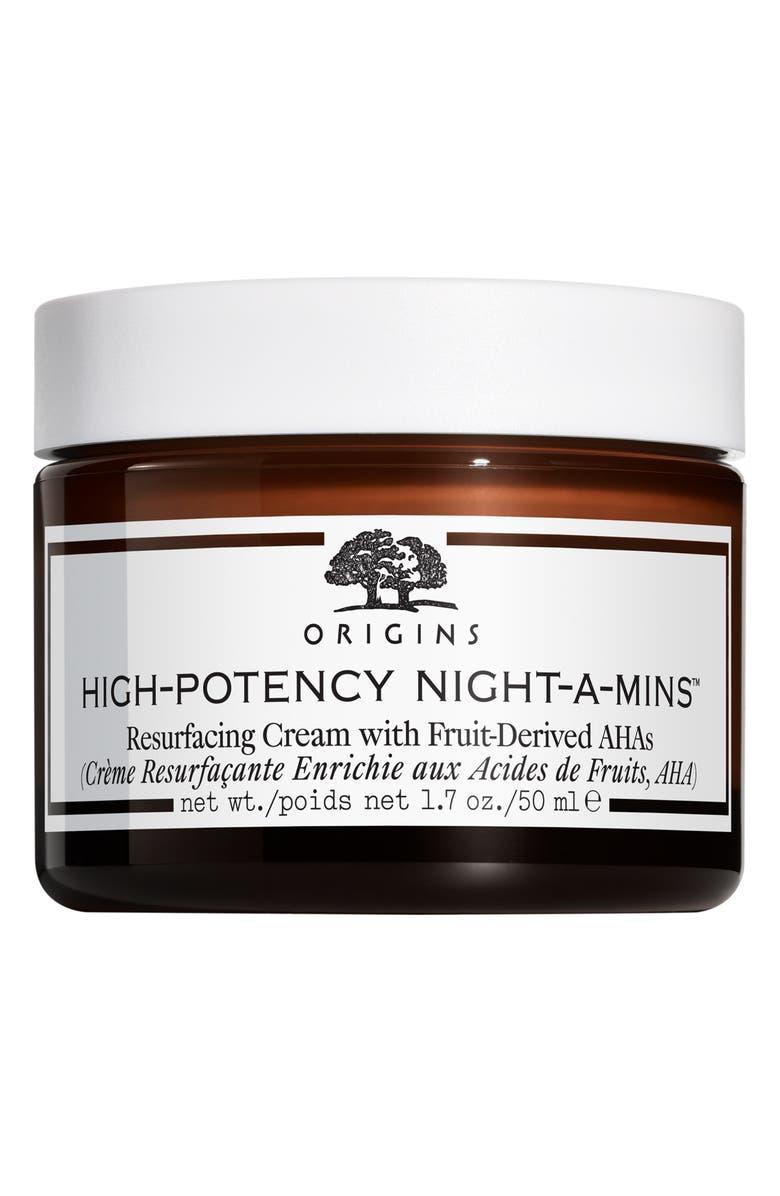 ORIGINS High-Potency Night-A-Mins<sup>™</sup> Resurfacing Cream, Main, color, NO COLOR