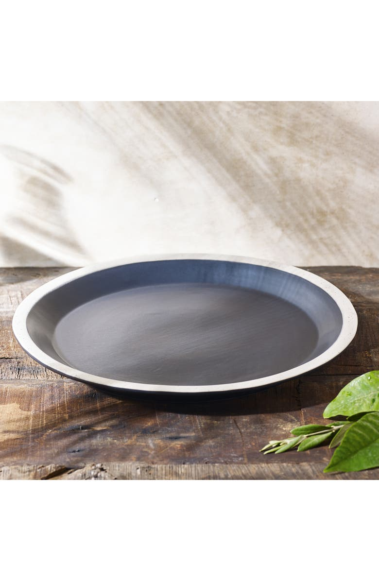 THE WHITE COMPANY Large Black Serving Platter, Main, color, 001