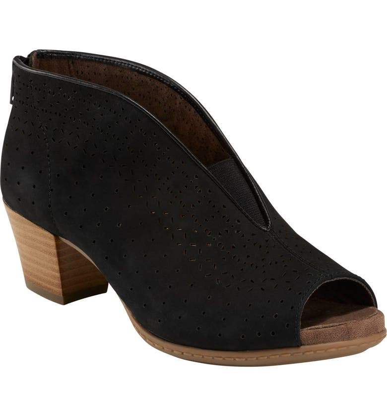 EARTH<SUP>®</SUP> Calgery Quebec Sandal, Main, color, BLACK NUBUCK LEATHER