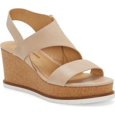 Lucky Brand Bylanna Wedge Sandal, Beige