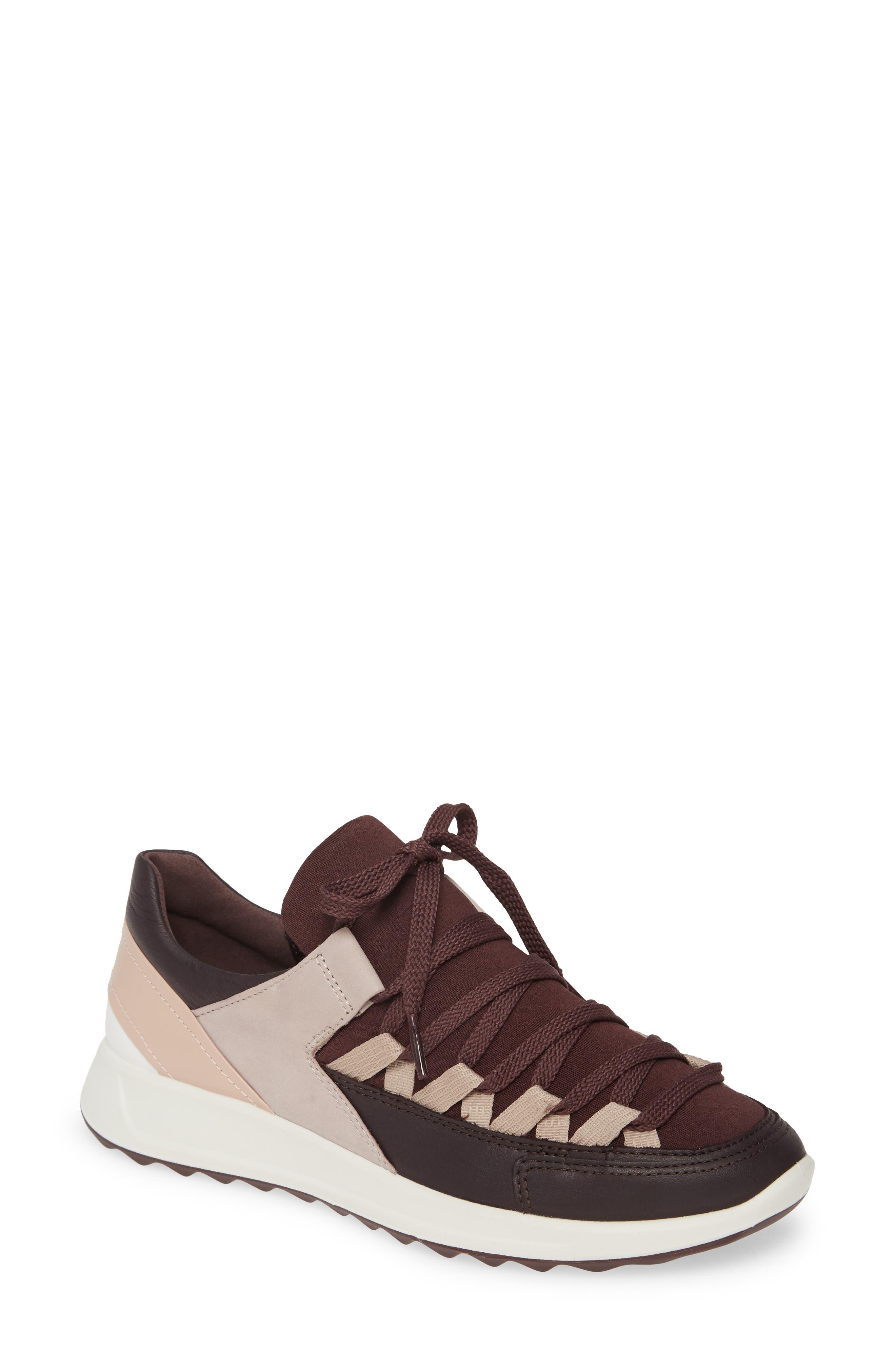 Ecco Flexure Runner Ii Sneaker, Burgundy