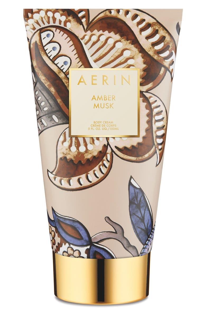 ESTÉE LAUDER AERIN Beauty Amber Musk Body Cream, Main, color, NO COLOR