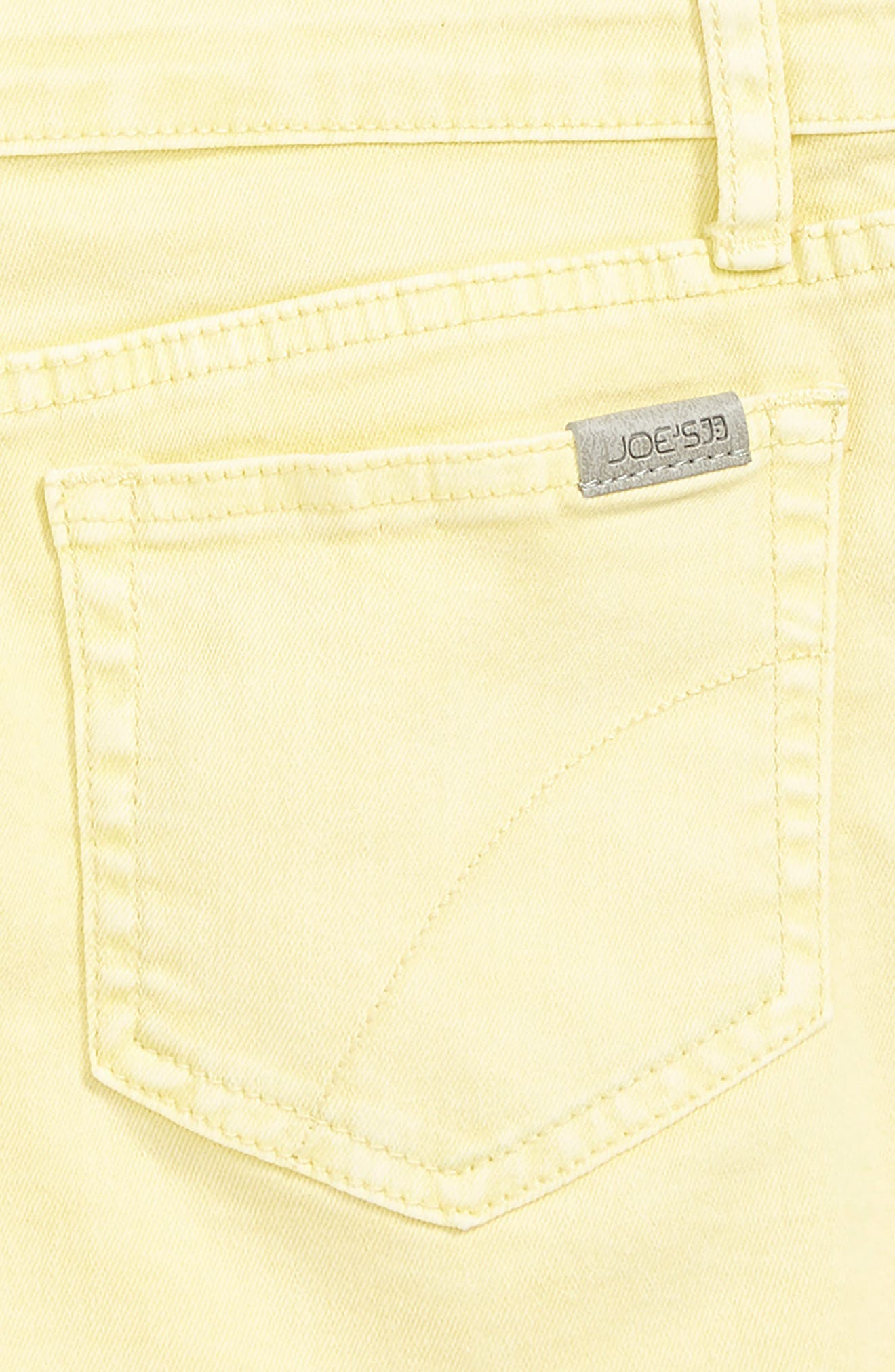 ,                             The Markie Cutoff Denim Shorts,                             Alternate thumbnail 3, color,                             PALE BANANA