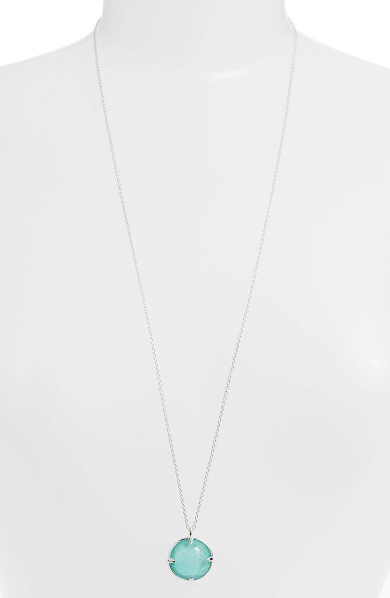 IPPOLITA Rock Candy Pendant Necklace, Main, color, BLUE