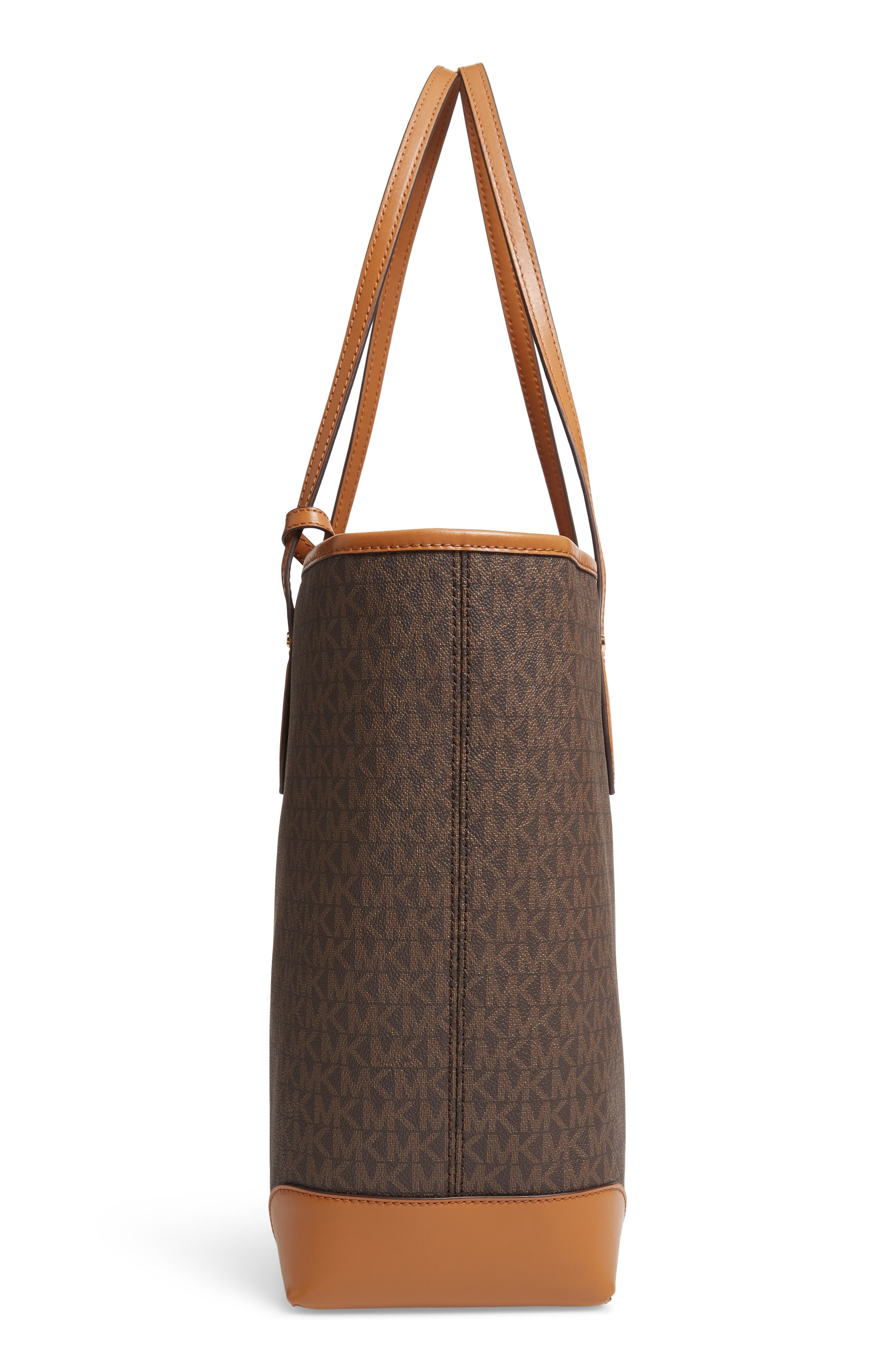 ,                             Eva Large Tote,                             Alternate thumbnail 6, color,                             BROWN