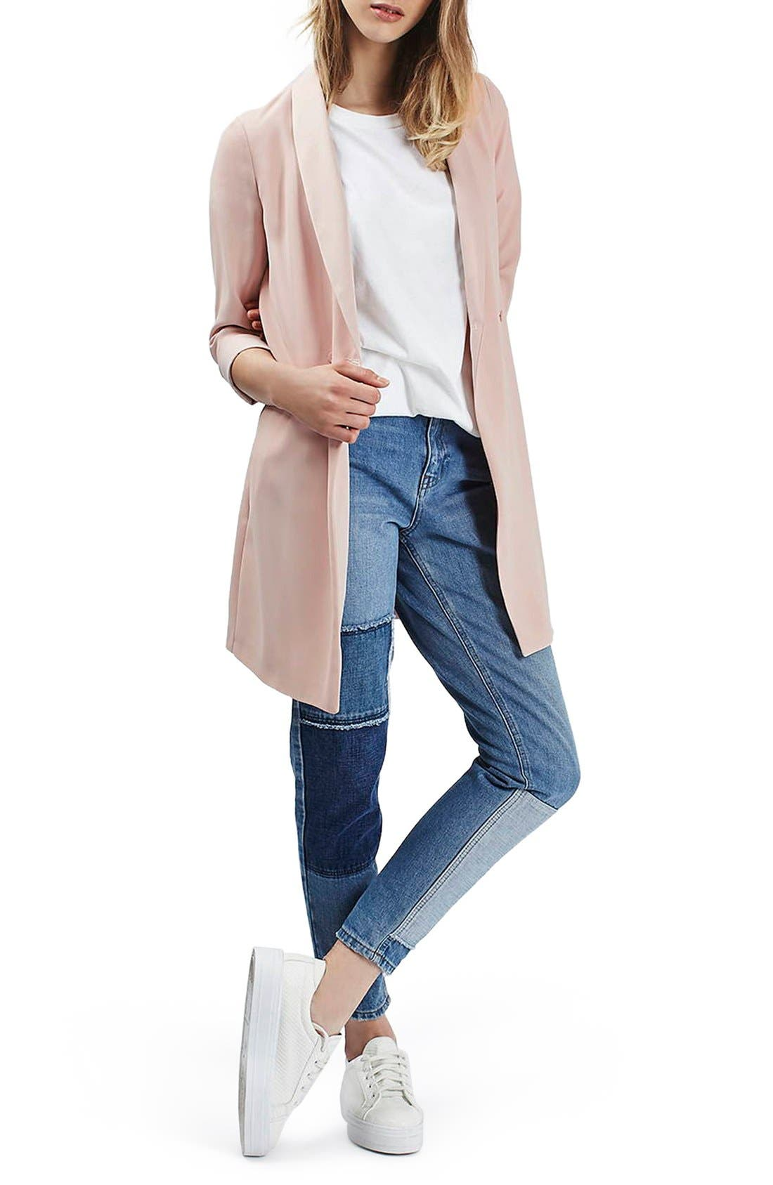 ,                             Slouchy Longline Blazer,                             Alternate thumbnail 10, color,                             650