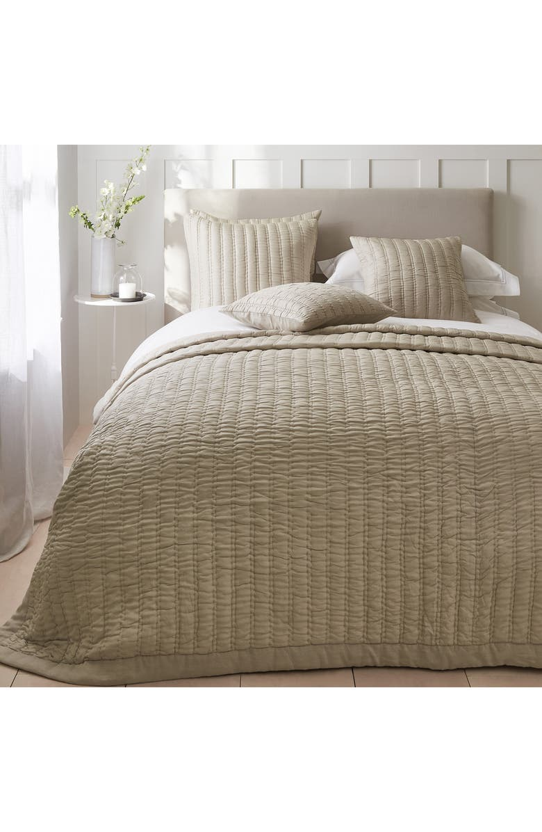 THE WHITE COMPANY Elgin Quilt, Main, color, OYSTER