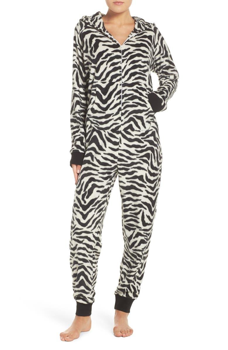 COZY ZOE Critter One-Piece Pajamas, Main, color, 100