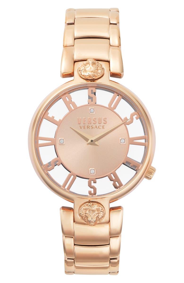VERSUS Versace Kristenhof Bracelet Watch 34mm