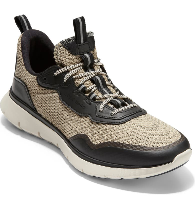 COLE HAAN ZeroGrand All-Day Trainer Sneaker, Main, color, SESAME/ BLACK/ SESAME