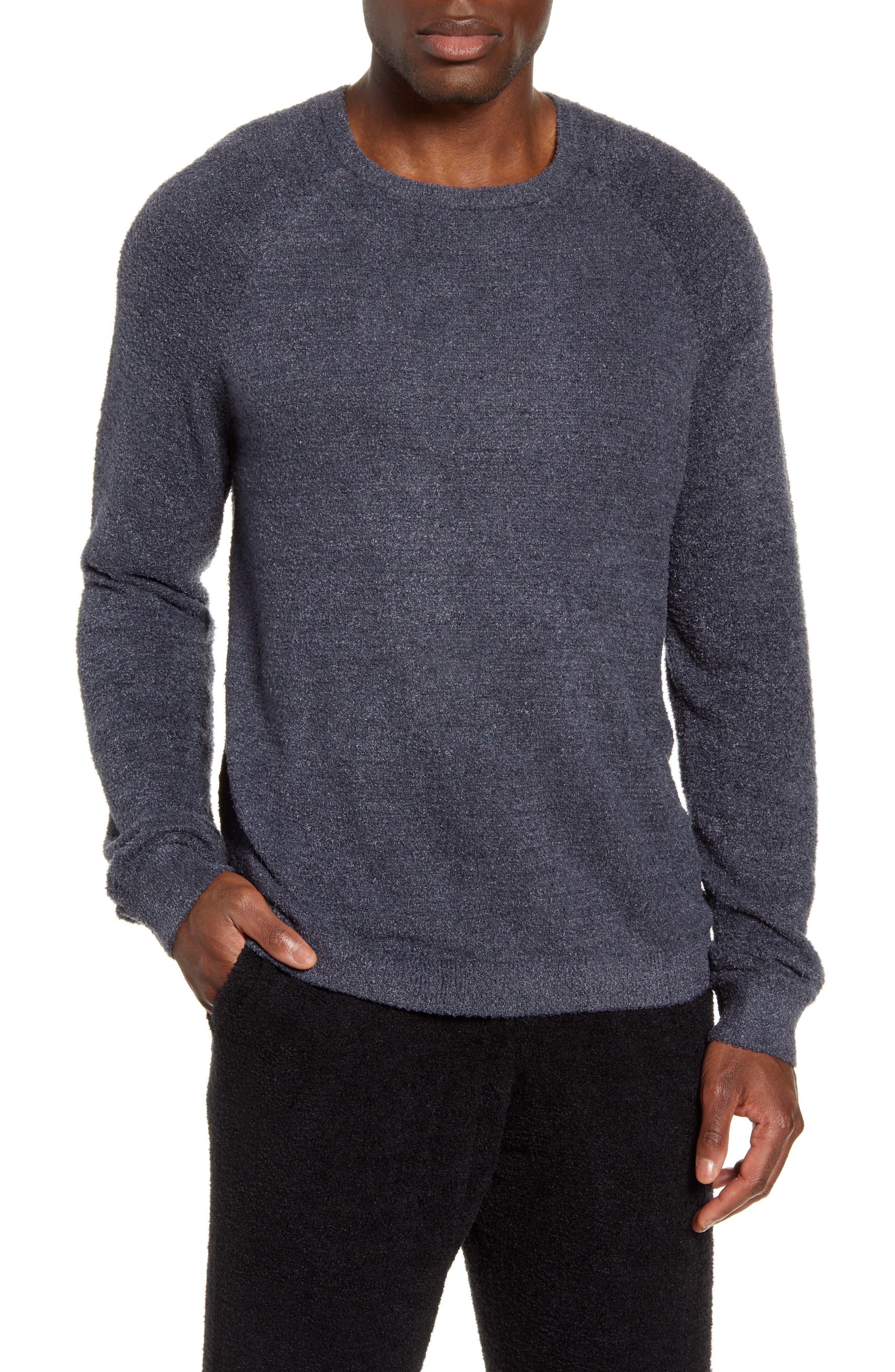 Men's Barefoot Dreams Cozychic(TM) Lite Raglan Sweater