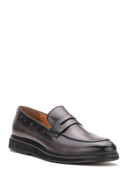 Image of Vintage Foundry Lionell Leather Penny Loafer