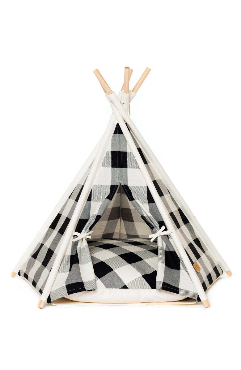 HUTS AND BAY Pet Teepee Tent, Main, color, 001