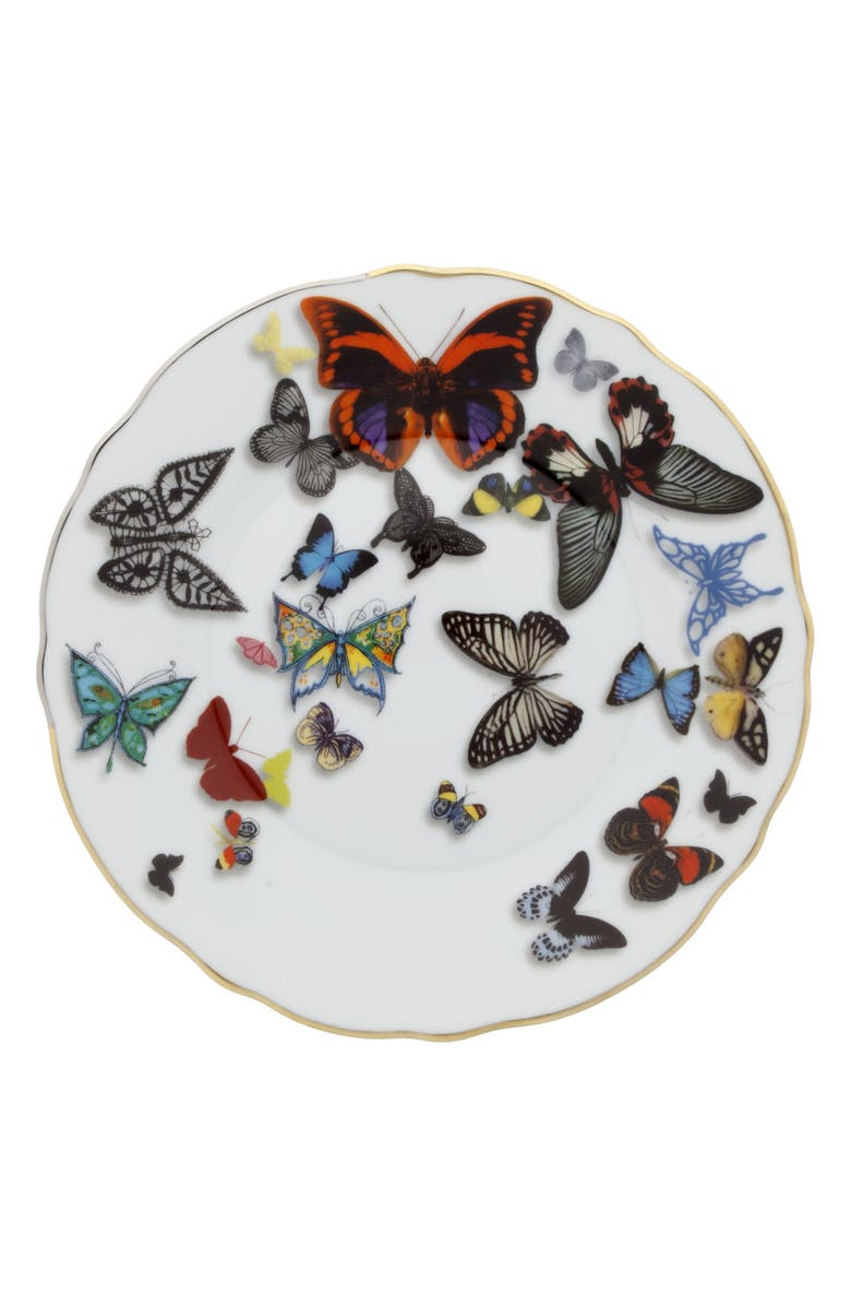 CHRISTIAN LACROIX Butterfly Parade Dinner Plate, Main, color, MULTI