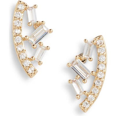 Nordstrom Nested Cubic Zirconia Stud Earrings