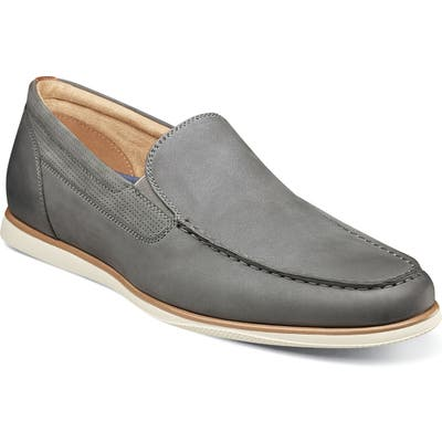 Florsheim Atlantic Venetian Loafer W - Grey