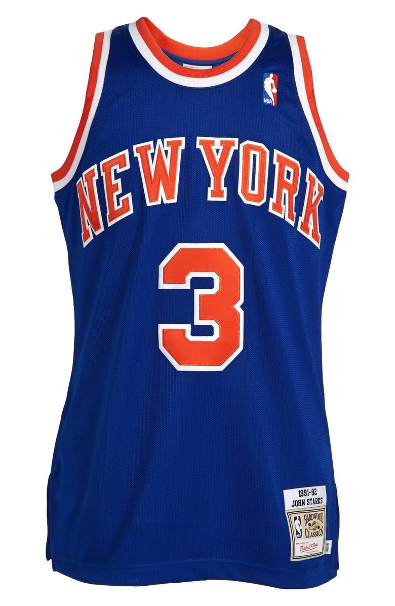 size 40 1483c d0b0c Mitchell & Ness 'New York Knicks 1991-1992 - John Starks ...
