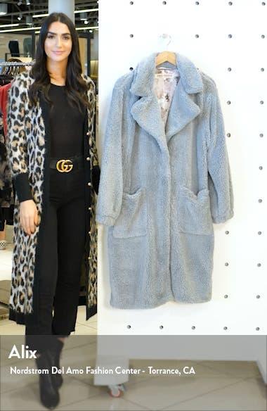 Tessa Teddy Coat, sales video thumbnail
