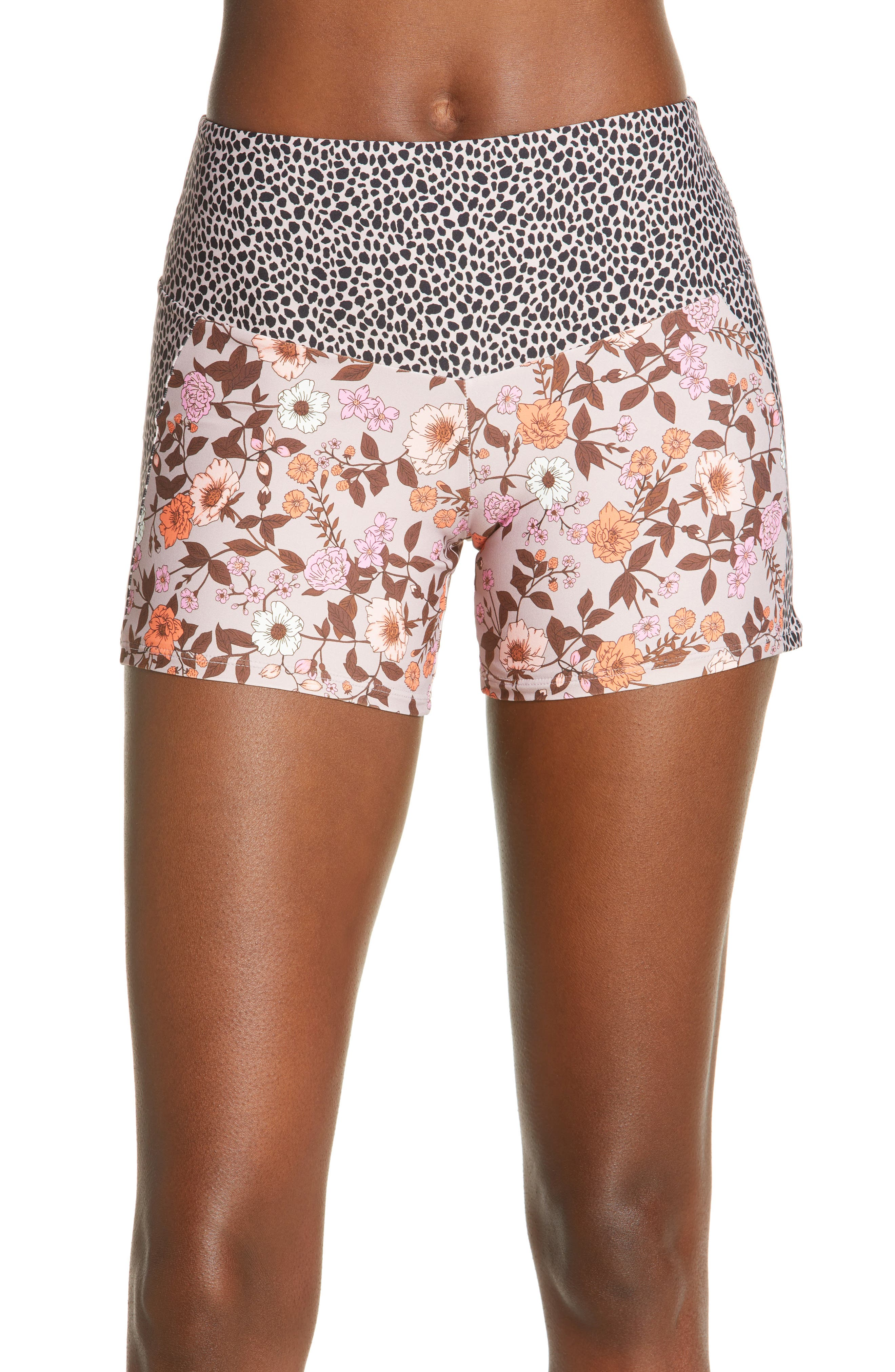 Rose Linzie Reversible Swim Shorts