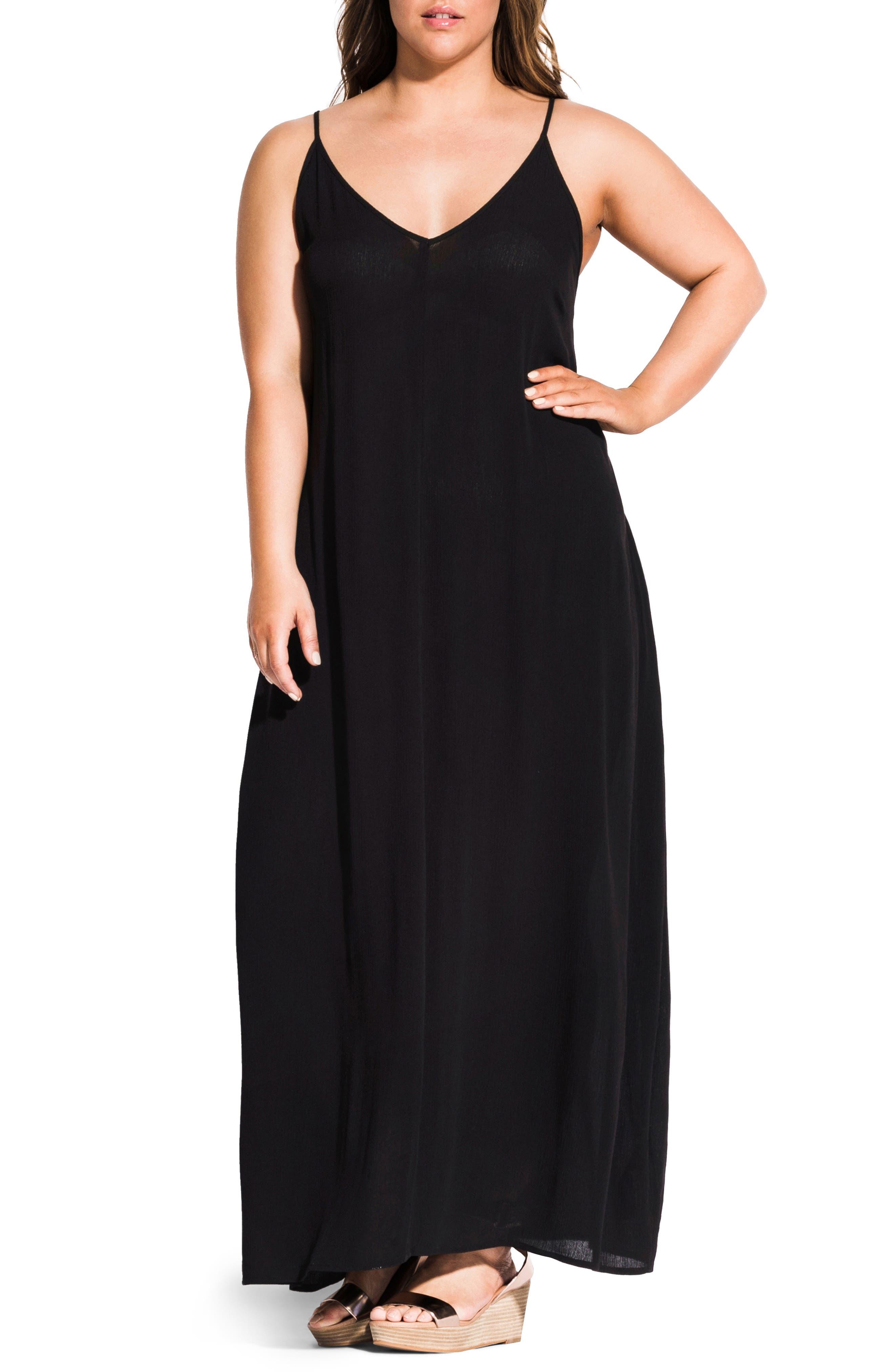 Plus Size City Chic Summer Love Maxi Dress