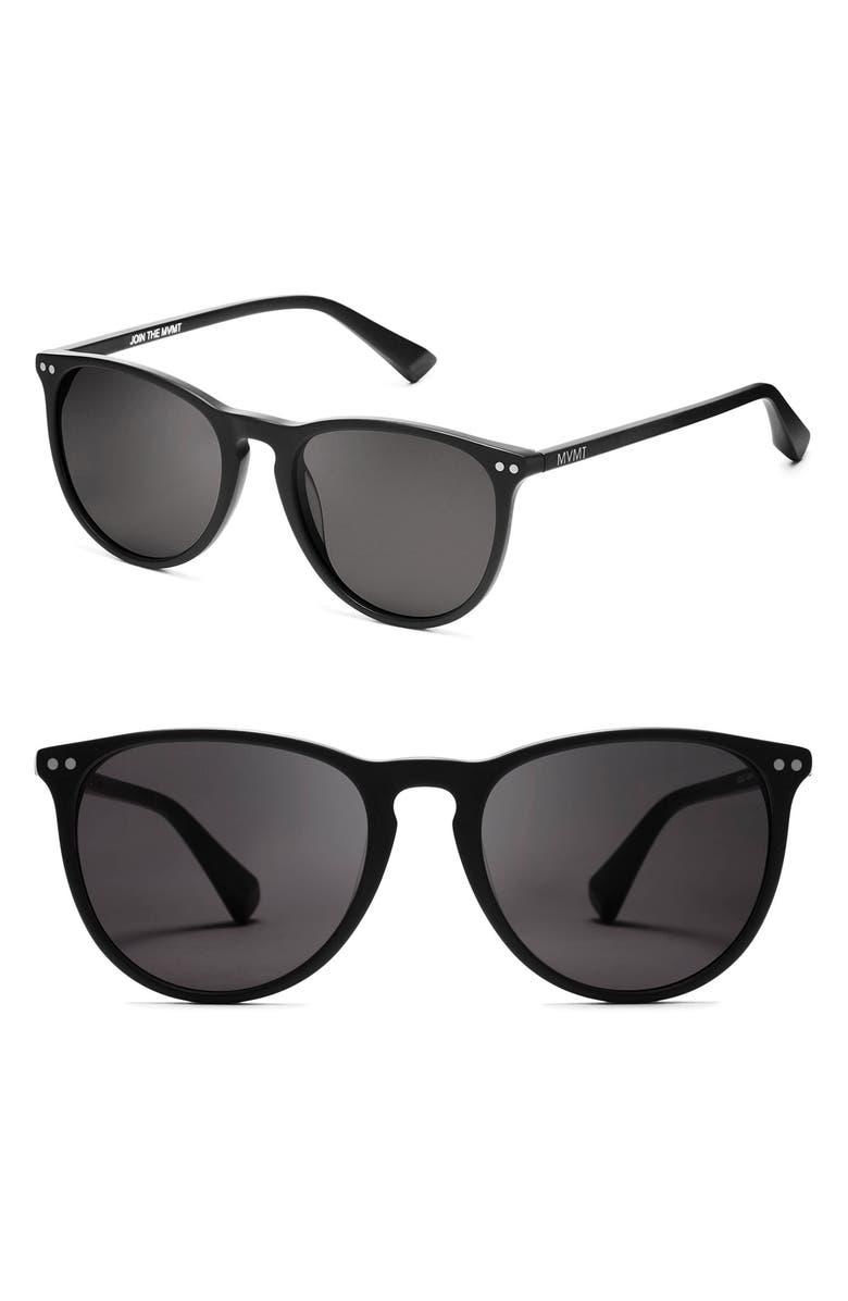MVMT Ingram 54mm Sunglasses, Main, color, 001
