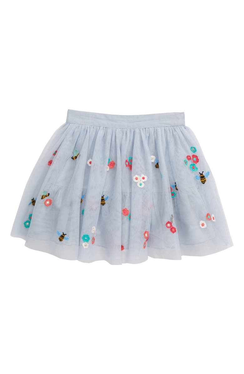PEEK AREN'T YOU CURIOUS Victoria Bee Tulle Skirt, Main, color, LIGHT BLUE