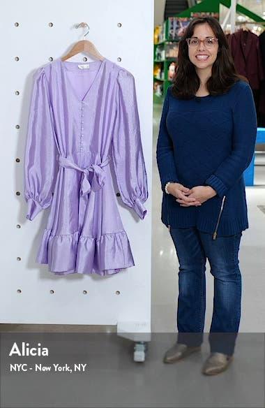 Farrow Long Sleeve Minidress, sales video thumbnail