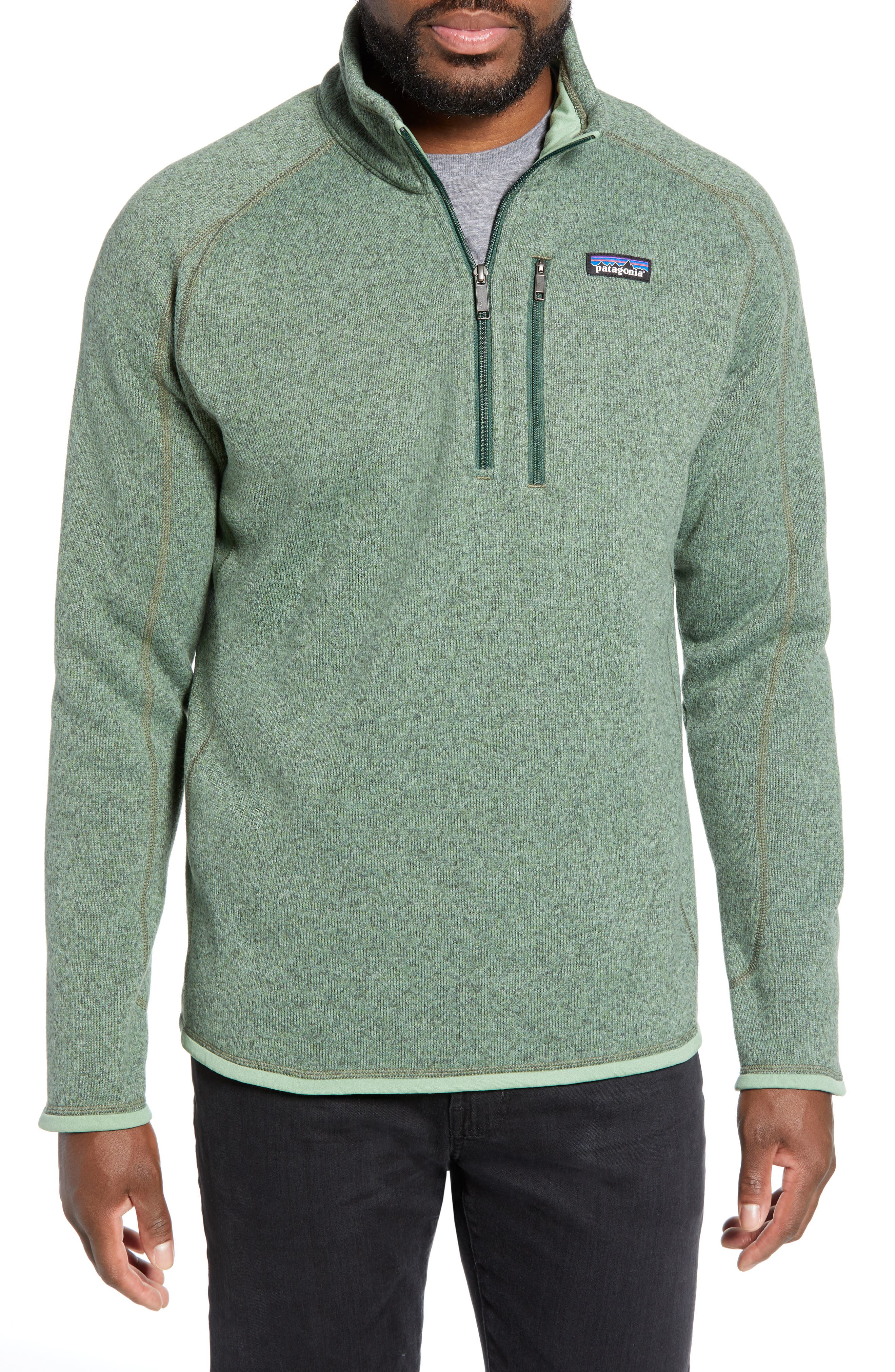 ,                             Better Sweater Quarter Zip Pullover,                             Main thumbnail 37, color,                             305