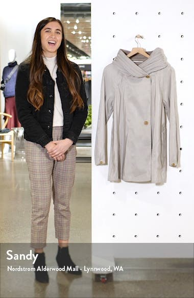 Reversible Pleat Hooded Raincoat, sales video thumbnail