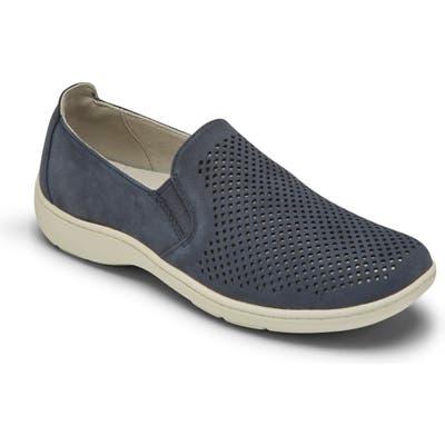 Aravon Lia Slip-On Sneaker, EE - Blue