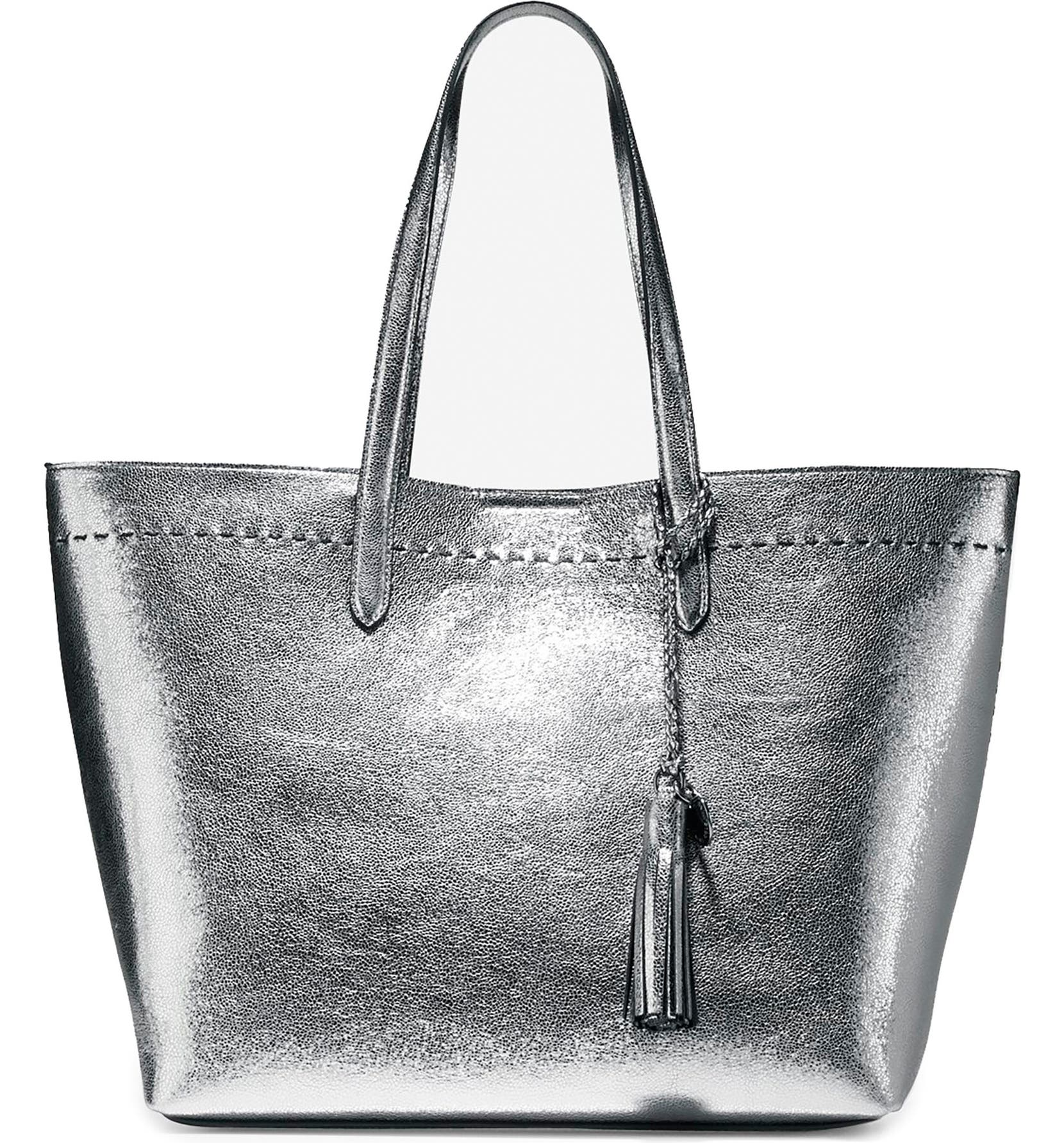 7164952eb7 Cole Haan Payson Metallic Leather Tote   Nordstrom