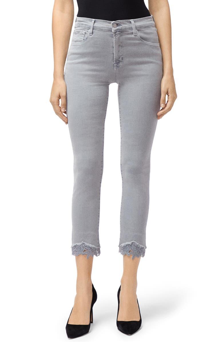 Ruby High Waist Crop Cigarette Jeans by J Brand