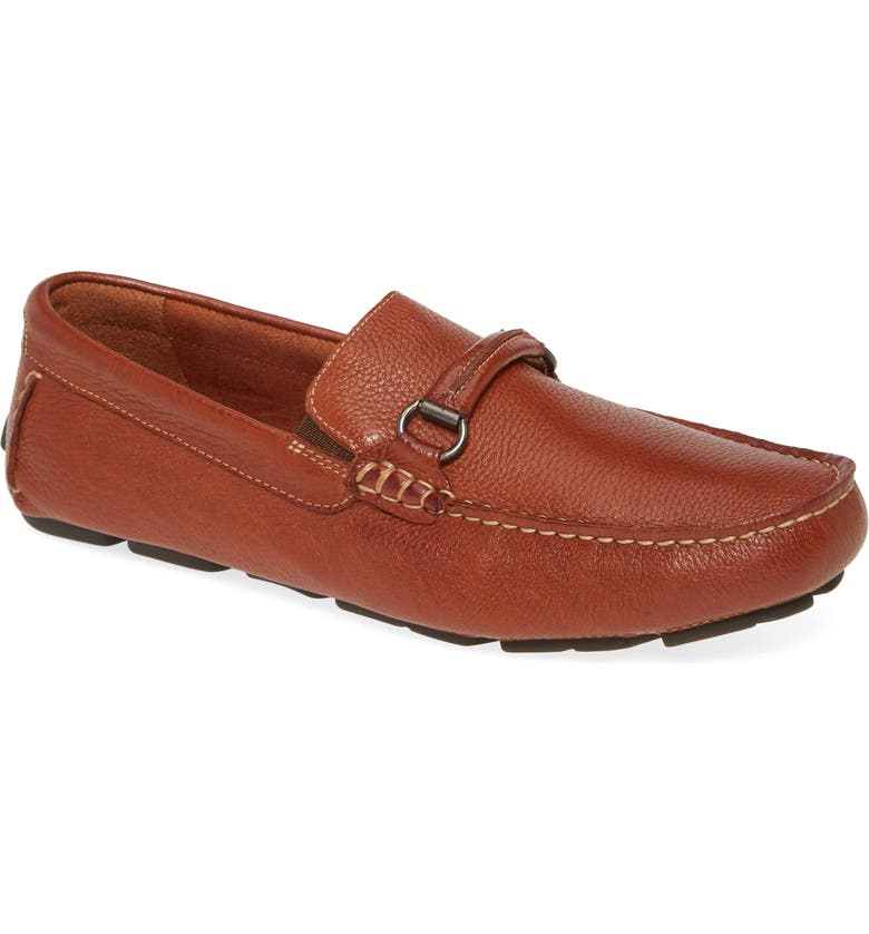 JOHNSTON & MURPHY Truxton Driving Loafer, Main, color, TAN