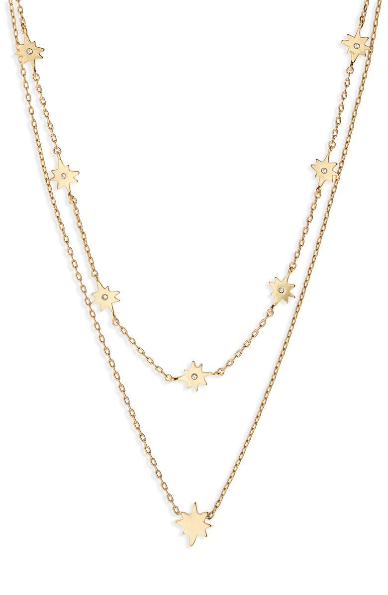 MADEWELL Enamel Starshine Necklace Set, Main, color, 710