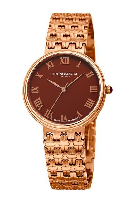 Image of Bruno Magli Women's Swiss Made Ronda Quartz 703 Isabella Watch, 36mm