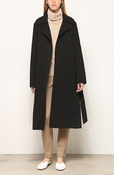 Marjorie Wool Trench Coat, video thumbnail