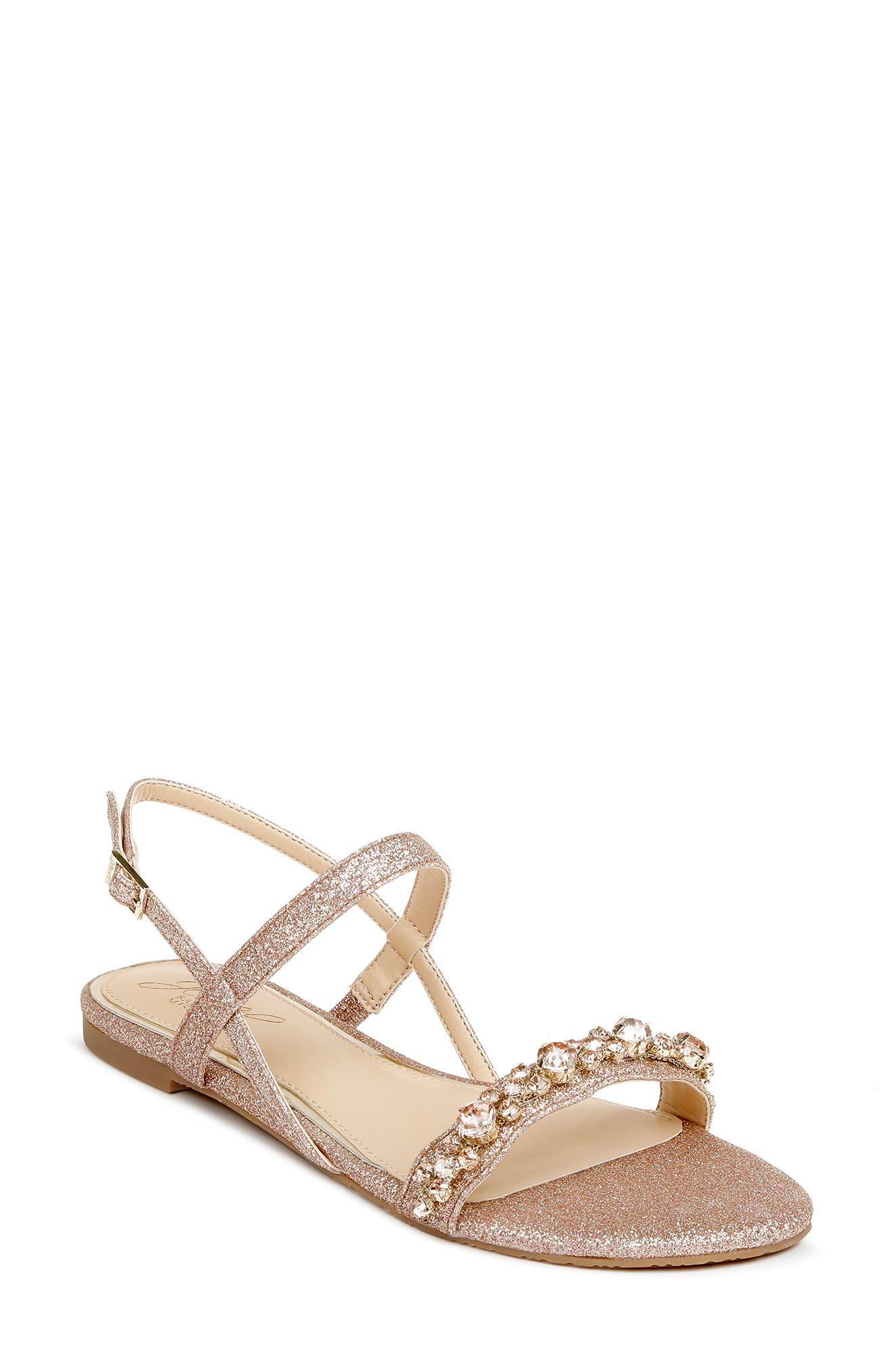 Osmond Crystal Slingback Sandal
