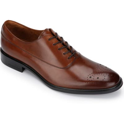 Kenneth Cole New York Tully Medallion Toe Oxford, Brown