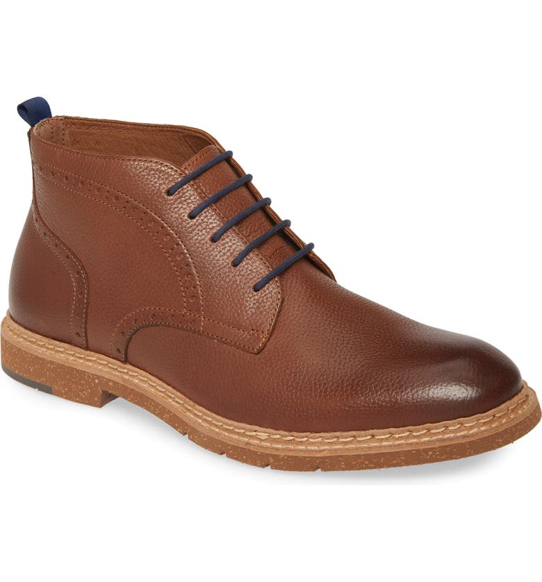JOHNSTON & MURPHY J&M 1850 Pearce Chukka Boot, Main, color, TAN