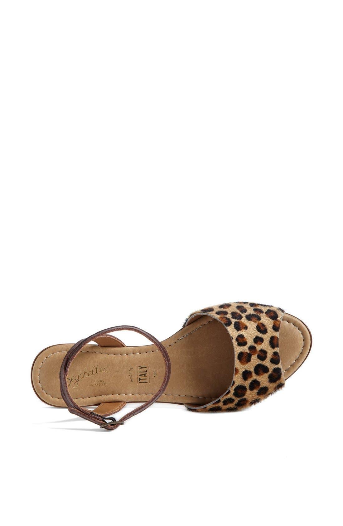 ,                             'Brand New' Ankle Strap Calf Hair Sandal,                             Alternate thumbnail 15, color,                             240