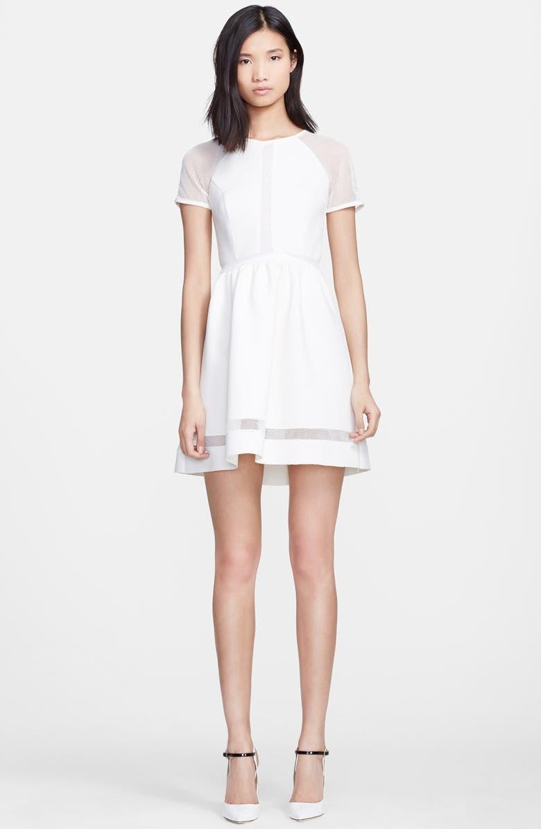 RACHEL ZOE 'Baxter' Fit & Flare Dress, Main, color, 110