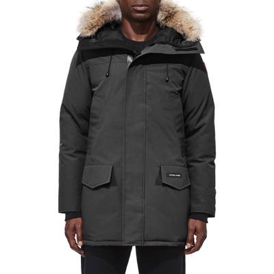 Canada Goose Langford Fusion Fit Parka With Genuine Coyote Fur Trim