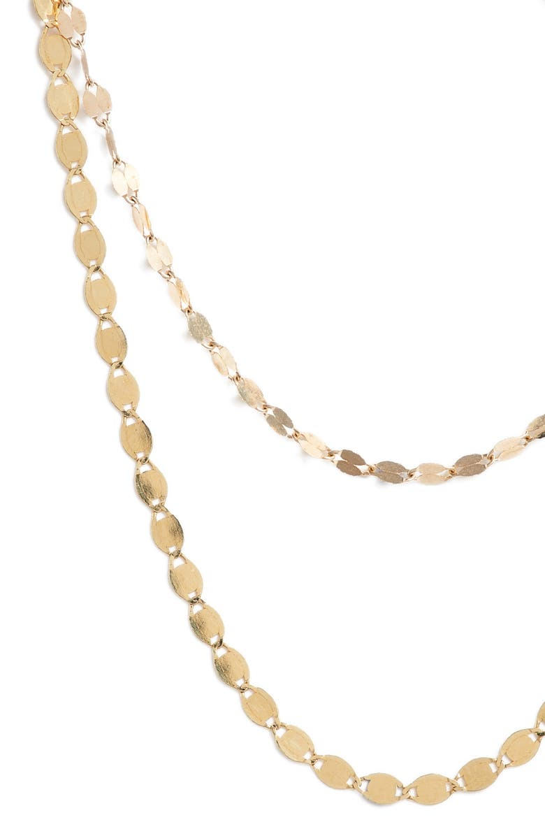 LANA JEWELRY Blake Nude Duo Necklace, Main, color, 710
