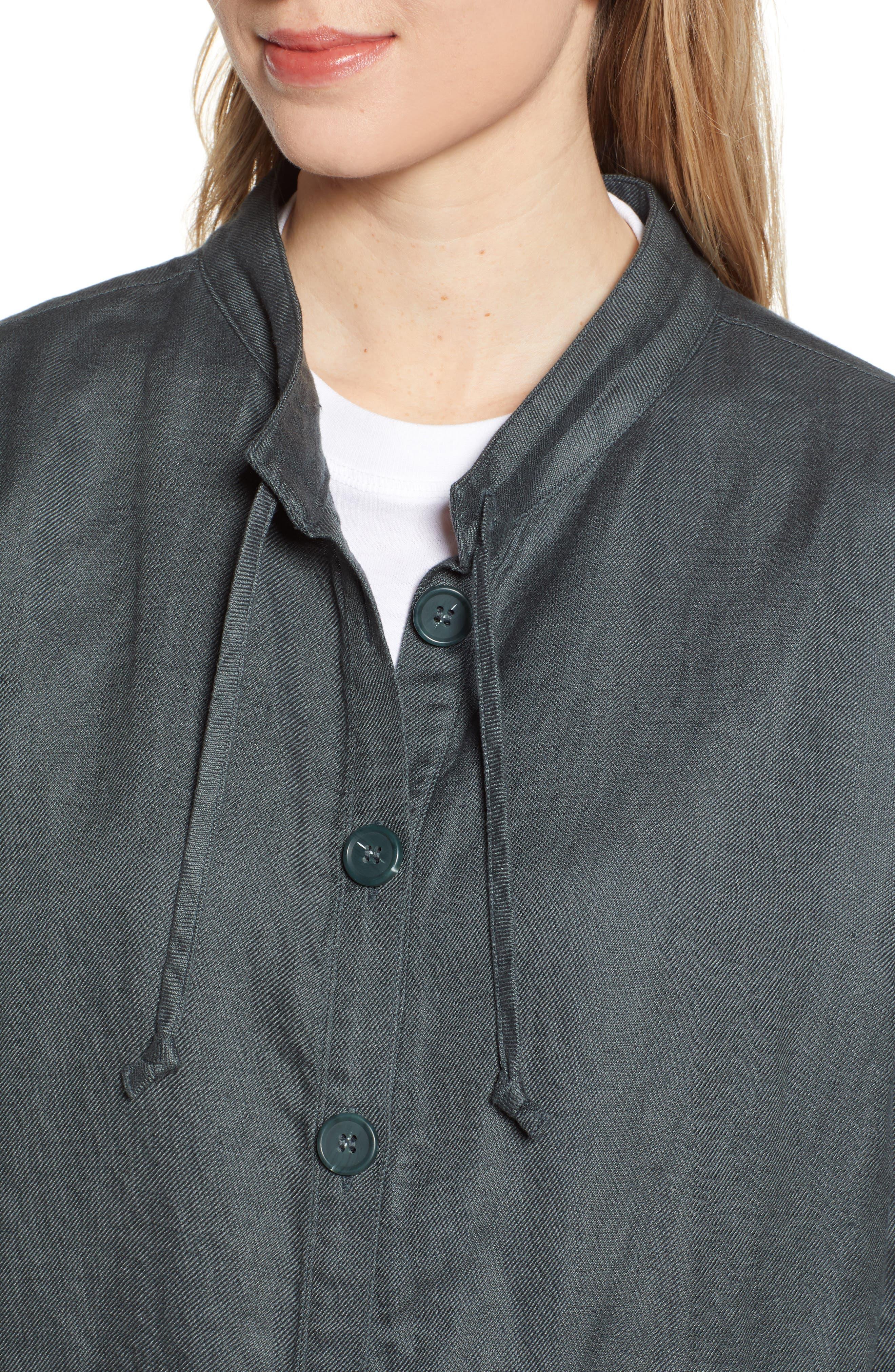 ,                             Oversize Military Jacket,                             Alternate thumbnail 5, color,                             GREY URBAN