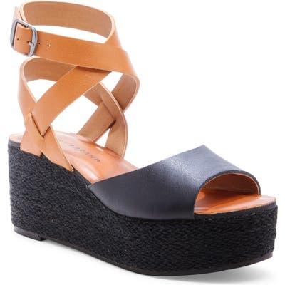 Lucky Brand Ginny Platform Sandal- Black