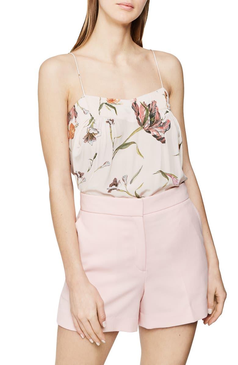 REISS Lois Floral Camisole, Main, color, MULTI