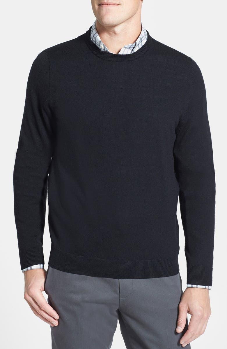 113ff65fc482de Nordstrom Men's Shop Merino Wool Crewneck Sweater (Regular & Tall ...