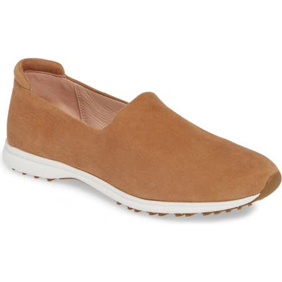 Taryn Rose Briella Slip-On Sneaker, Brown